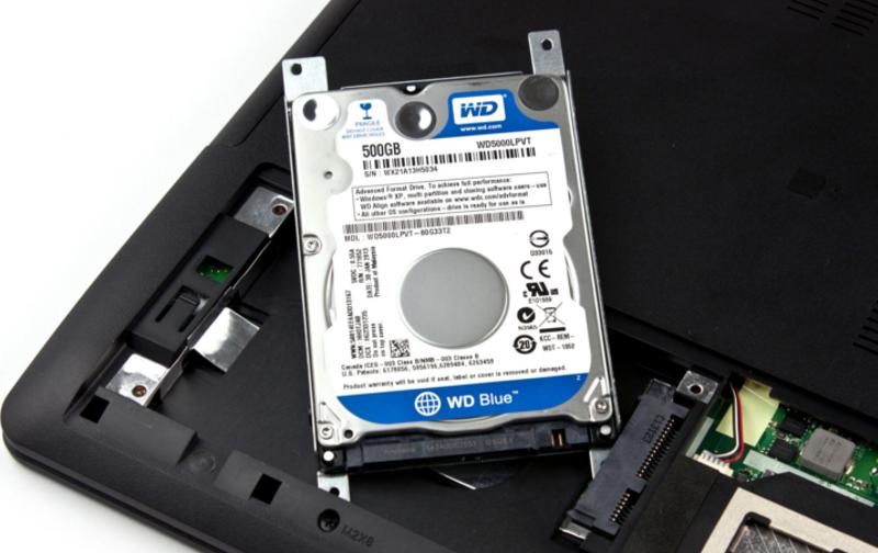 Ремонт жесткий диск в ноутбуке своими руками