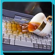 Ремонт залитого ноутбука пивом, кофе, чаем, соком, водой