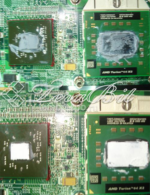 Замена термопасты на ноутбуке HP Pavilion vd6000