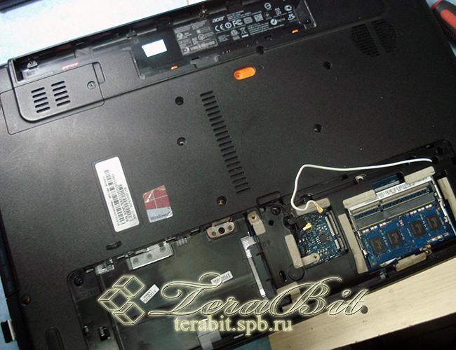 Разборка ноутбука Acer E1-571