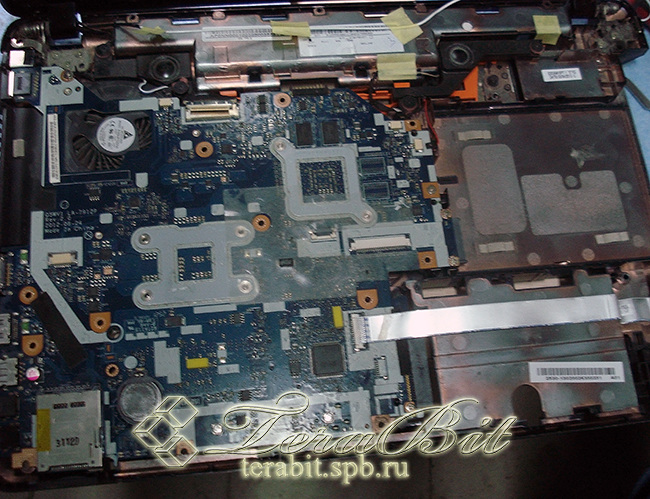 Разборка Acer E1-571