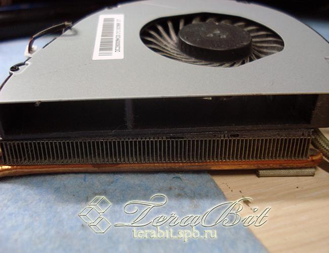 Чистка системы охлаждения ноутбука Acer E1-571