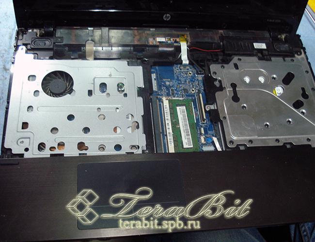 Снятие клавиатуры ноутбука HP ProBook 4520s