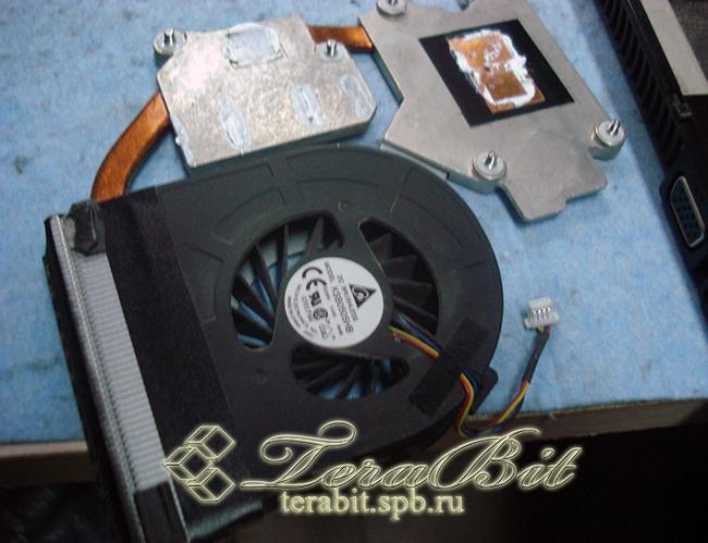 Система охлаждения ноутбука HP ProBook 4520s
