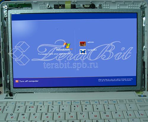 Установка новой матрицы Acer 1001P