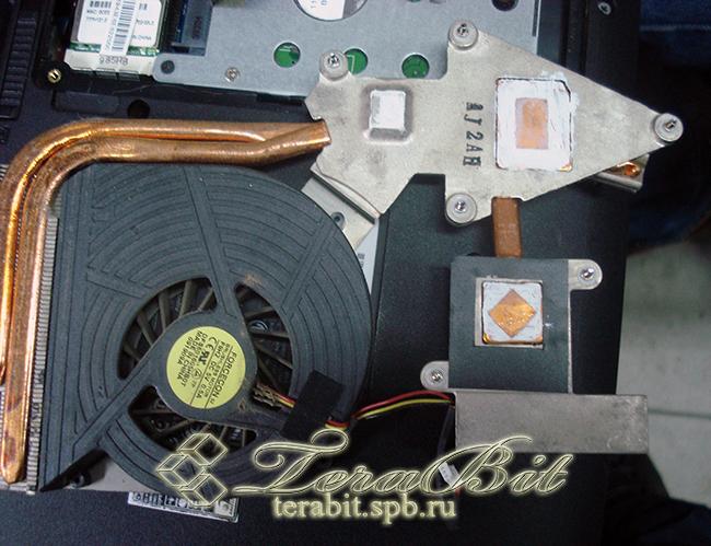 Система охлаждения ноутбука Acer Aspire 7540G