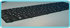 Замена клавиатуры в ноутбуке Packard Bell Z5WT1.