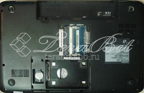 Извлечение жесткого диска и оперативной памяти Toshiba C850