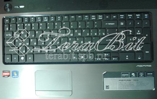 Замененная клавиатура Acer 7551G