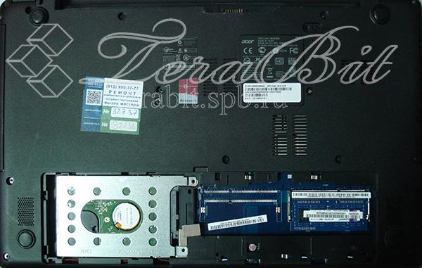 Задняя крышка ноутбука Acer E1-510-29202G32Mnkk