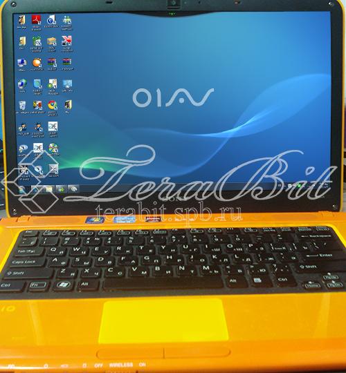 Ноутбук SONY VPCCA3S1R/D с замененной матрицей