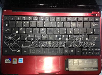 Клавиатура ноутбука Acer A0751h-52Br