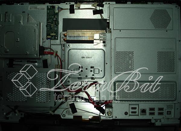 Задняя часть моноблока Acer Aspire Z3760