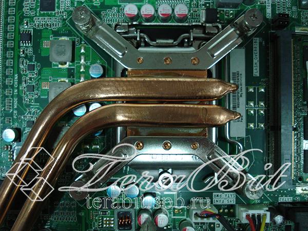 Снятие системы охлаждения Acer Aspire Z3760